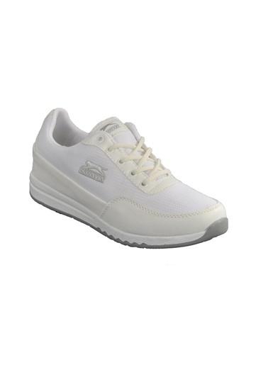 Slazenger Angle Beyaz Unisex Spor Ayakkabı Beyaz